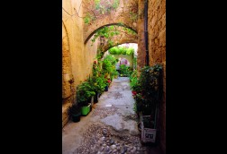 Arched Passageway