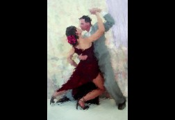 Last Tango 22x28 Matted $10 SALE