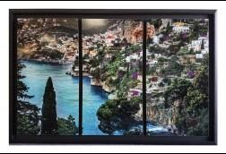 Bellissimo Metal tryptych Modern Float 32x48