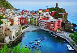 Overlook Vernazza 24x36 canvas wrap matte finish $125 SALE